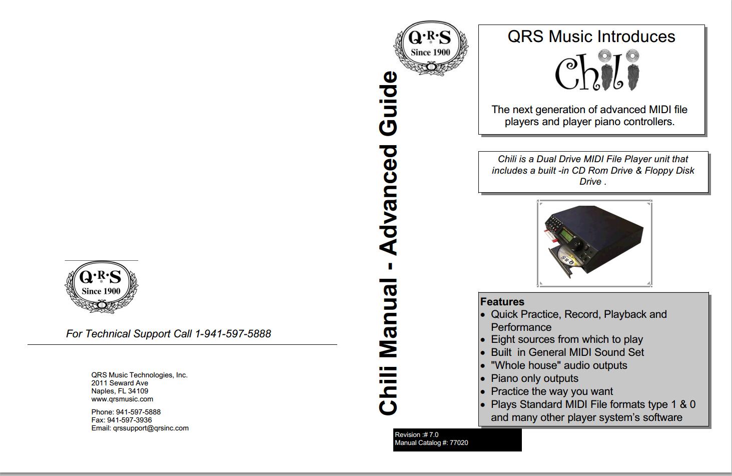 QRS Music Technology Inc