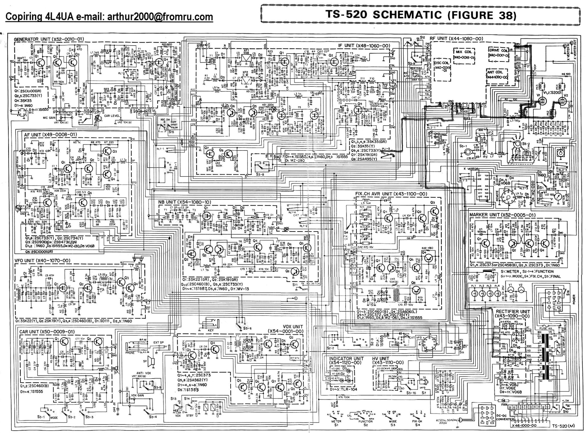 hight resolution of shure 58 wiring diagram