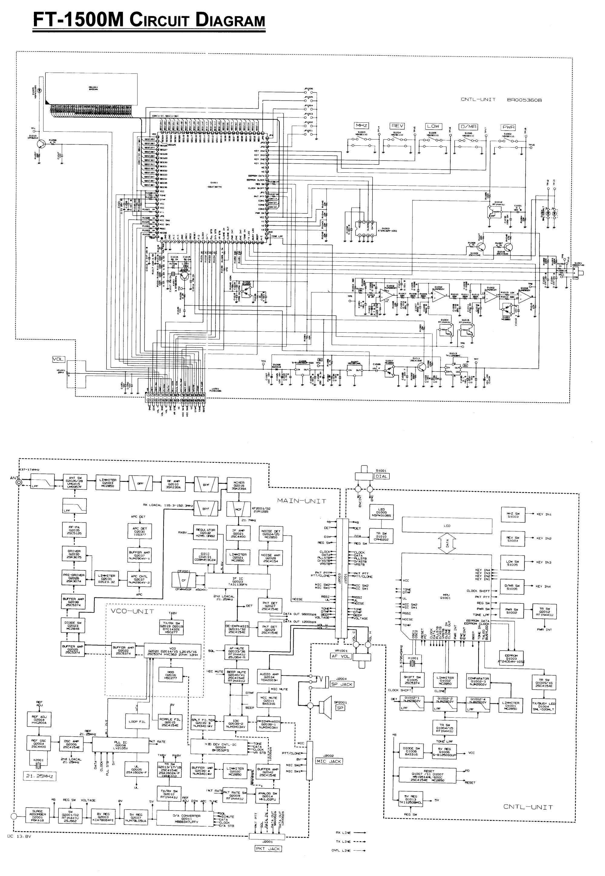 hight resolution of yaesu ft 1500 schematics jpg 3 699 mb download