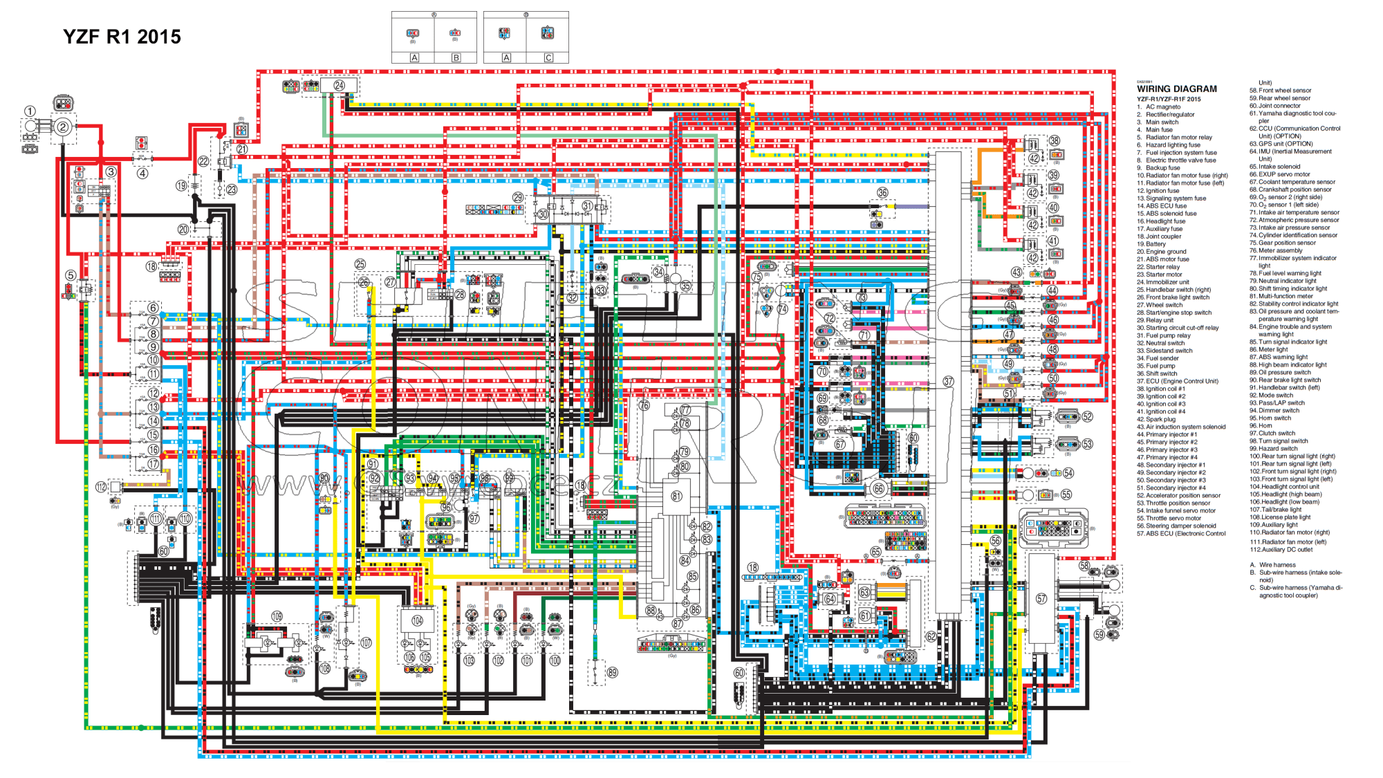 hight resolution of 2007 yamaha r1 wiring diagram simple wiring schema 09 r1 wiring diagram 07 r1 wiring diagram