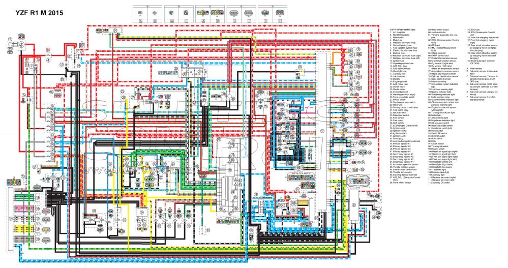 medium resolution of wiring diagrams 2012 yzf r1 wire diagram