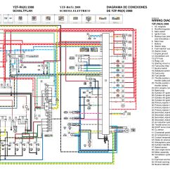 2008 Yamaha R6 Wiring Diagram Motor With Capacitor Diagrams