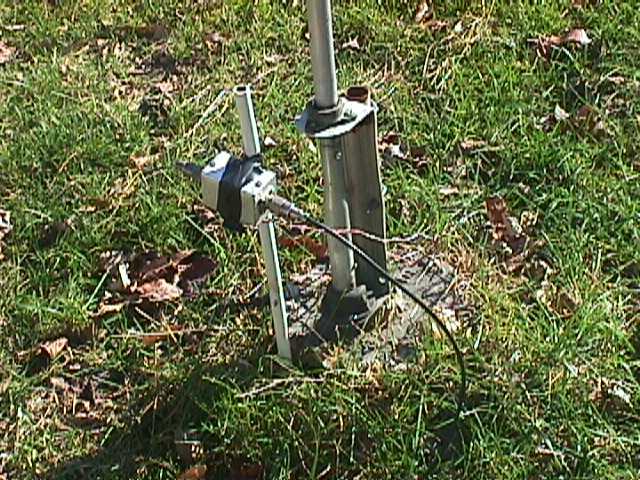 Shunt Vertical Fed Tower Antenna
