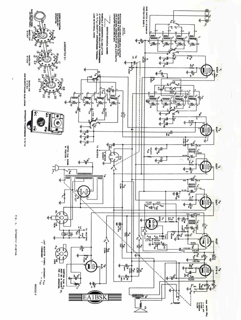 HALLICRAFTERS S40A Manuales de servicio y usuario