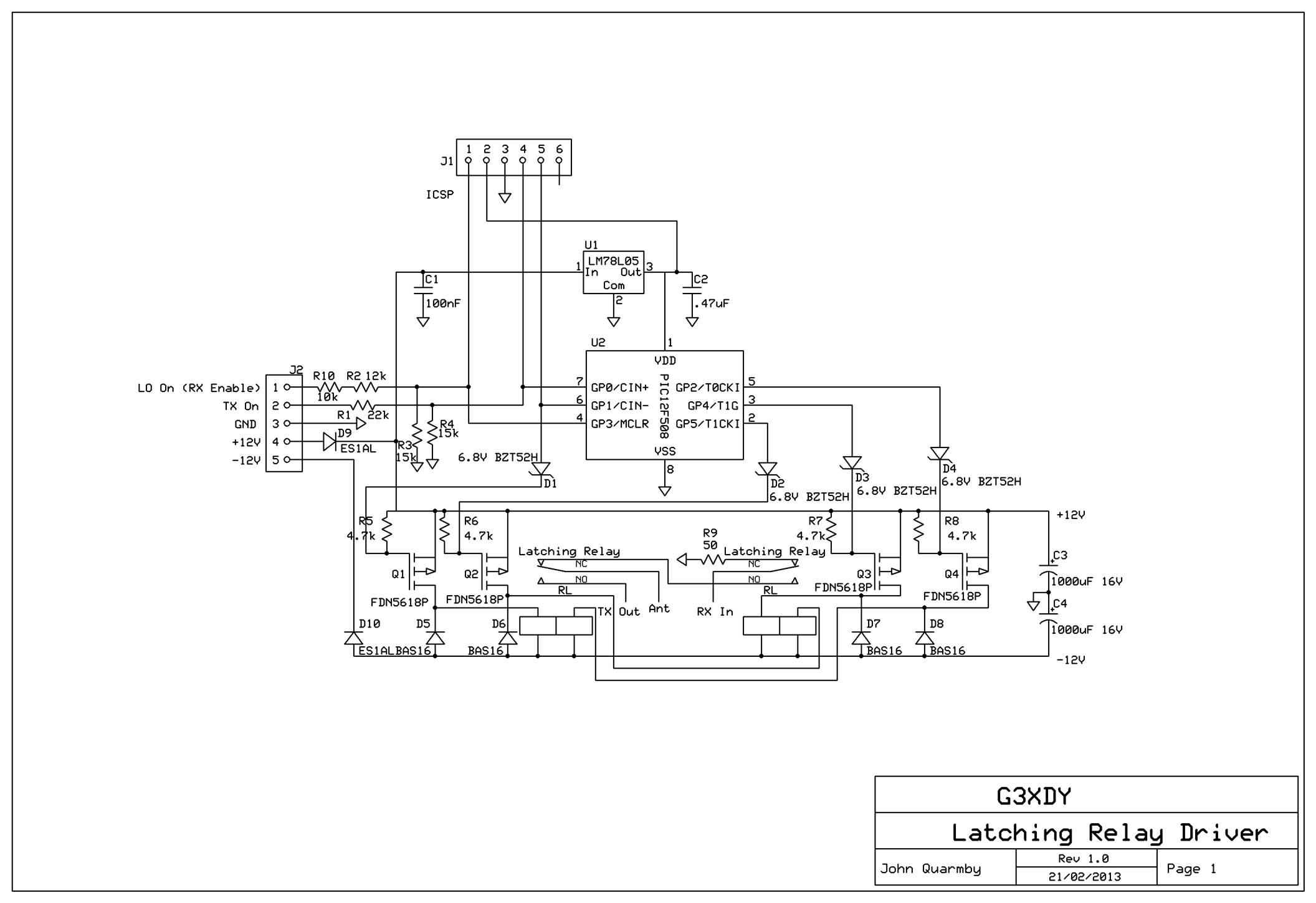 Momentary Latching Relay Circuit Diagram, Momentary, Get