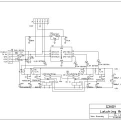 Latching Relay Wiring Diagram Spanish Inquisition Venn Momentary Circuit Get