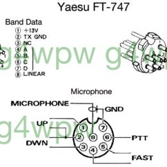 Mic Wiring Diagram 2000 Jeep Tj Please Note Click For Yaesu Ft 747 Series Connection Diagrams