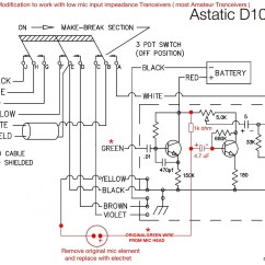 Microphone Wire Diagram How To Lewis Dot Wiring 4 Pin Astatic Rd104e Apc Diagrams