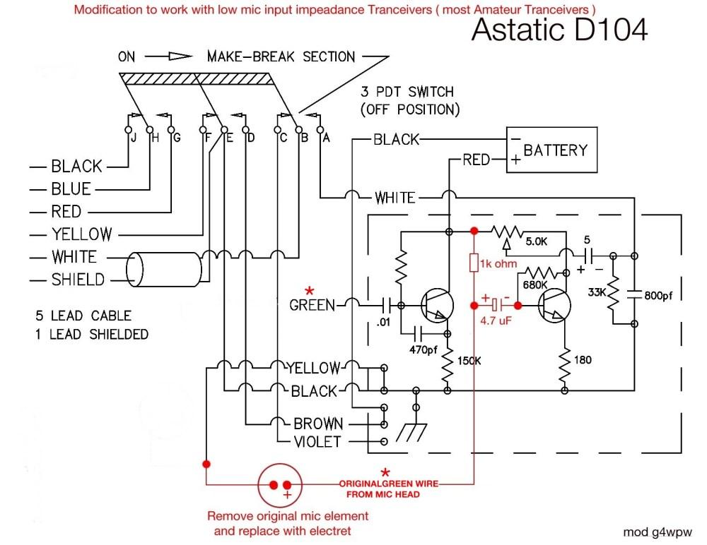 medium resolution of astatic d 104 wiring diagrams data wiring diagram schema rh 1 diehoehle derloewen de astatic mic wiring diagram astatic mic wiring 4 pin
