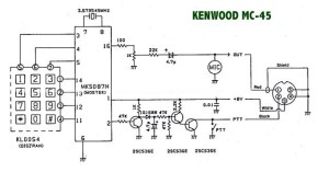 Kenwood Mc 50 Microphone Wiring Diagram  Wiring Diagram