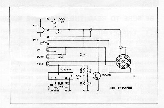 Icom Hm 152 Microphone Wiring Diagram : 37 Wiring Diagram