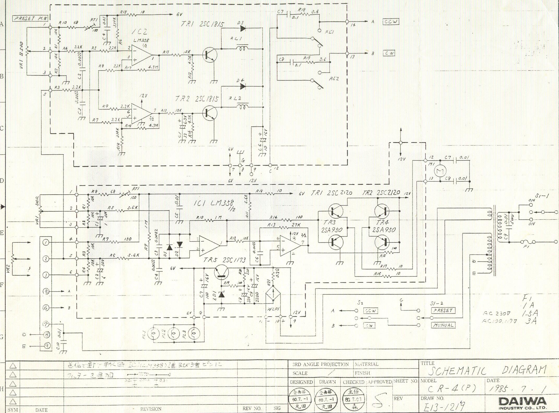 Daiwa Rotor Problems