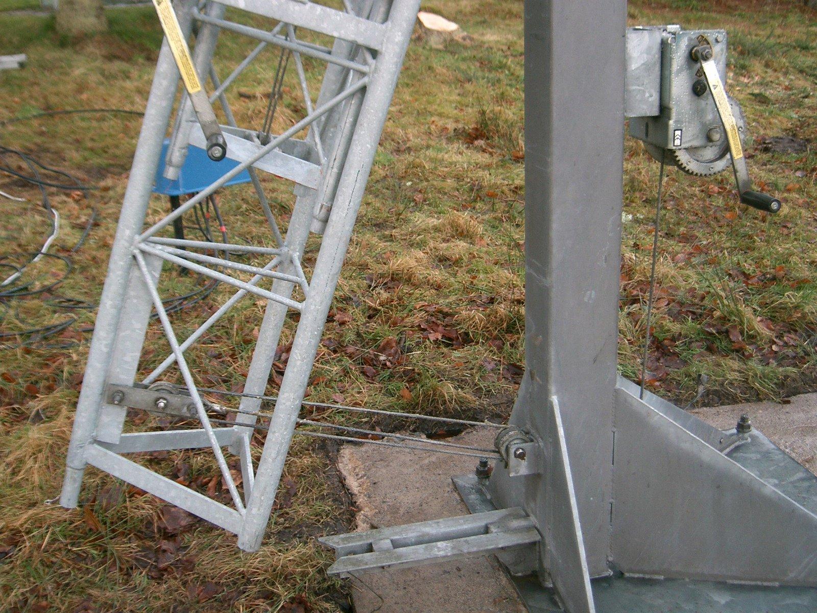 Antenna Rotor Wiring Diagram Lattice Tower Information Page