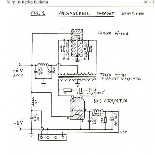 small resolution of 62 paraset power supply