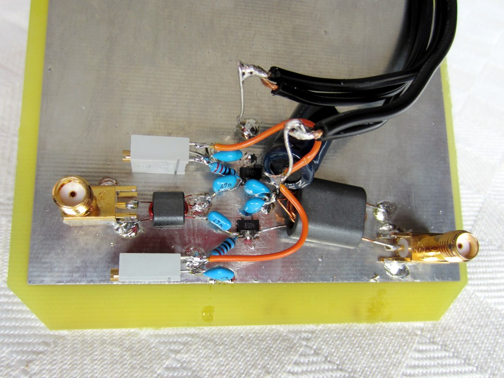 hight resolution of push pull power amplifier with pd85004
