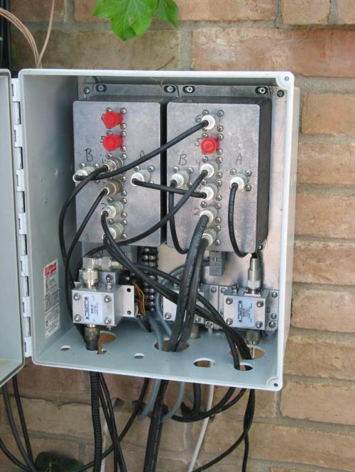 small resolution of print page passing coax through an exterior wall best practices exterior cable tv wiring box