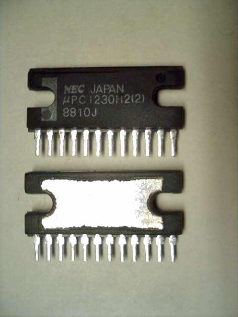 Amplifier Schematic Diagram Upc1230h2 Nec Upc1230 Upc1230h2 2 20watt Audio Amp