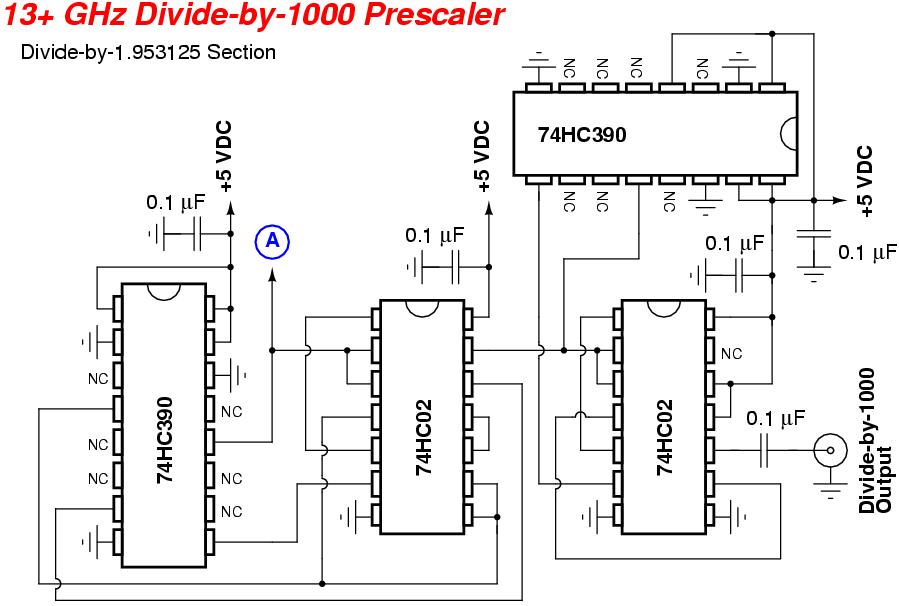 13 GHz Frequency Counter Prescaler
