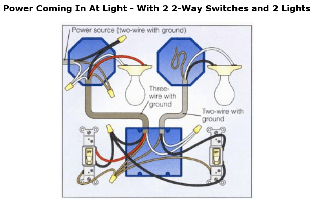 Basic Electrical Wiring Diagrams Lights Series Electrical