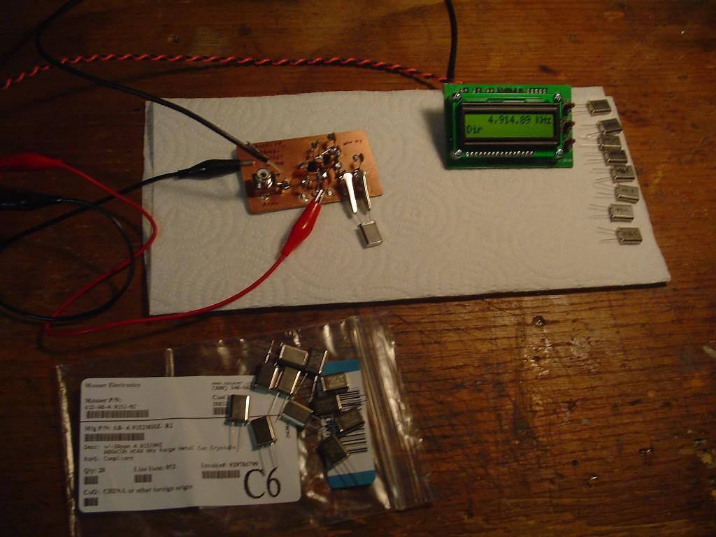 Xtal Tester Circuit