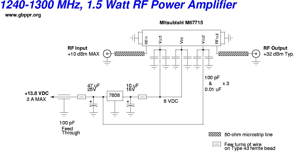 fpv transmitter wiring diagram free electrical software gbppr 23cm 1 2 ghz atv video 23 cm 5 watt amplifier