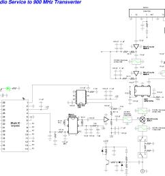 family radio service frs to 900 mhz transverter schematic  [ 2084 x 1646 Pixel ]