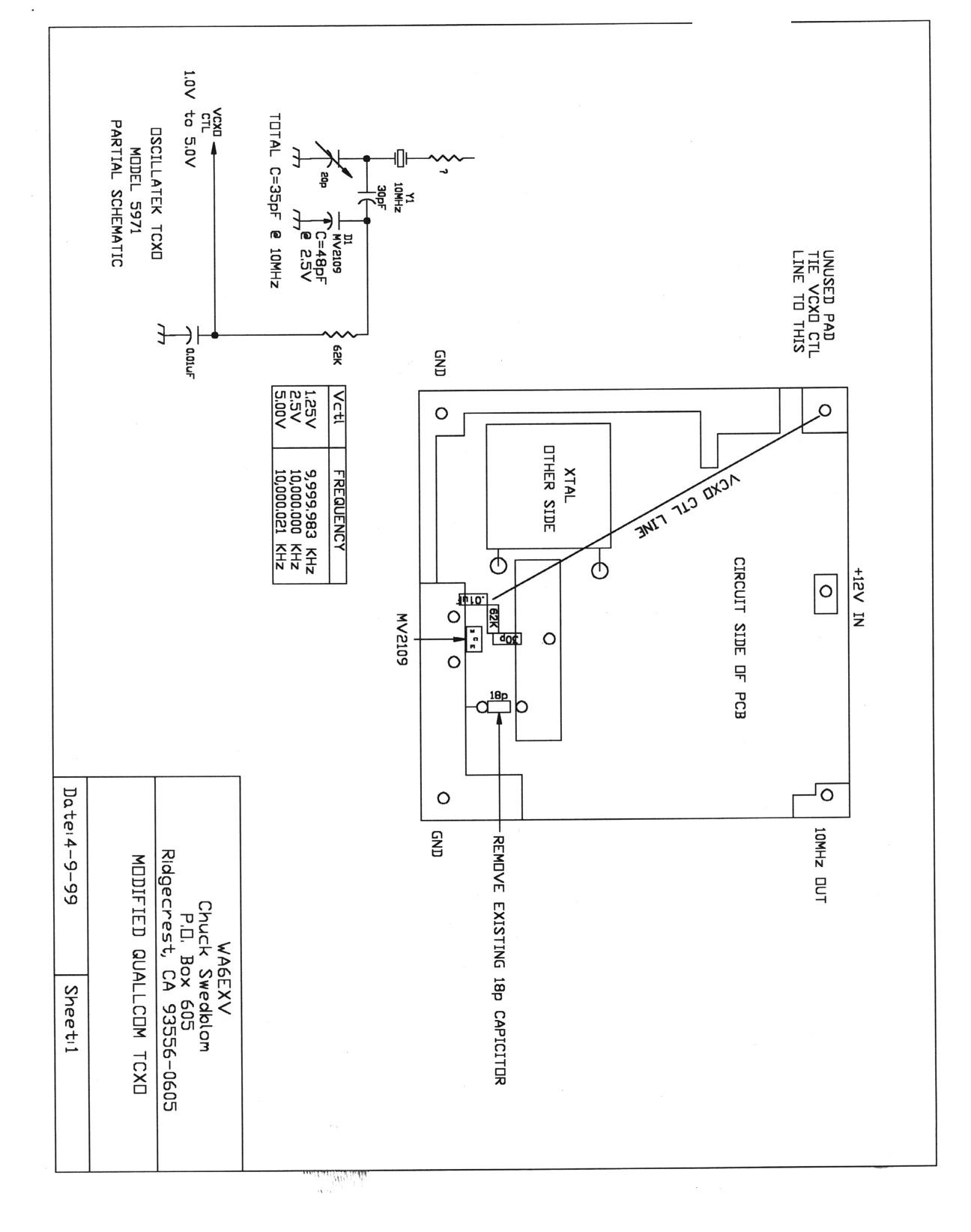 Tcxo 9 Schematic