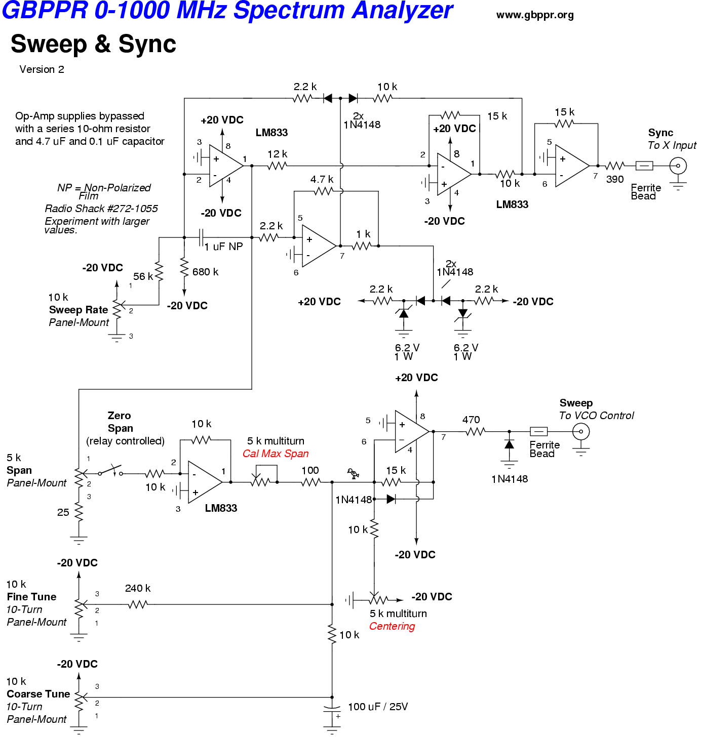 audio spectrum analyzer circuit diagram floor of mouth gbppr 1000 mhz