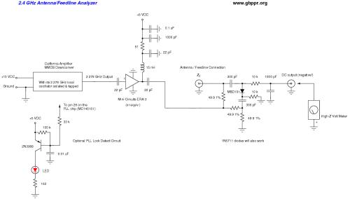 small resolution of 2 4 ghz antenna feedline analyzer schematic