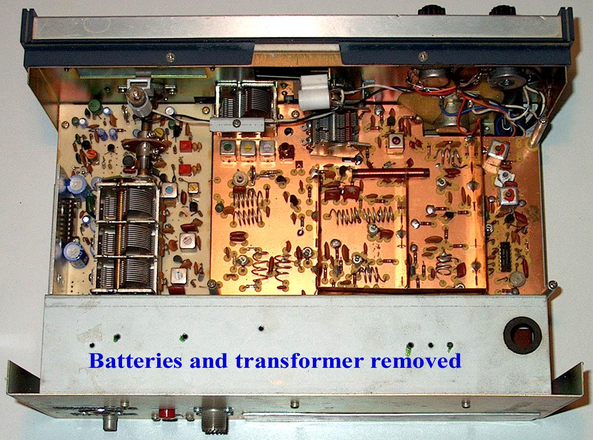 Amplifier Schematic Diagram The Drake Ssr1 Shortwave Receiver