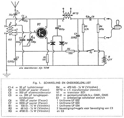 simple am receiver circuit diagram 208 3 phase wiring pocket reflex and the set diagrams old projects