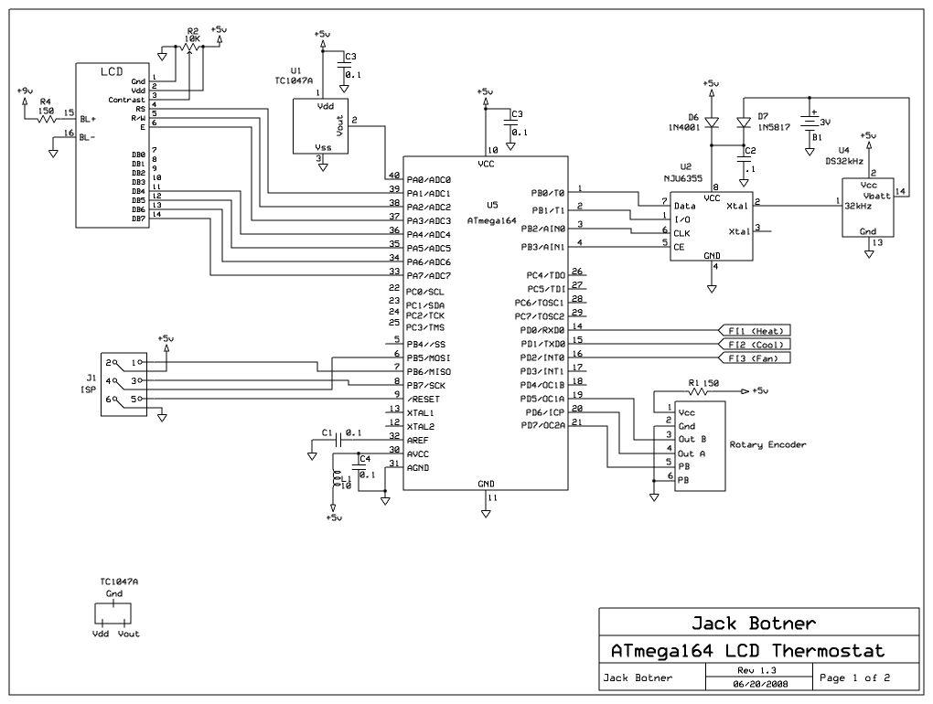 AVR Thermostat