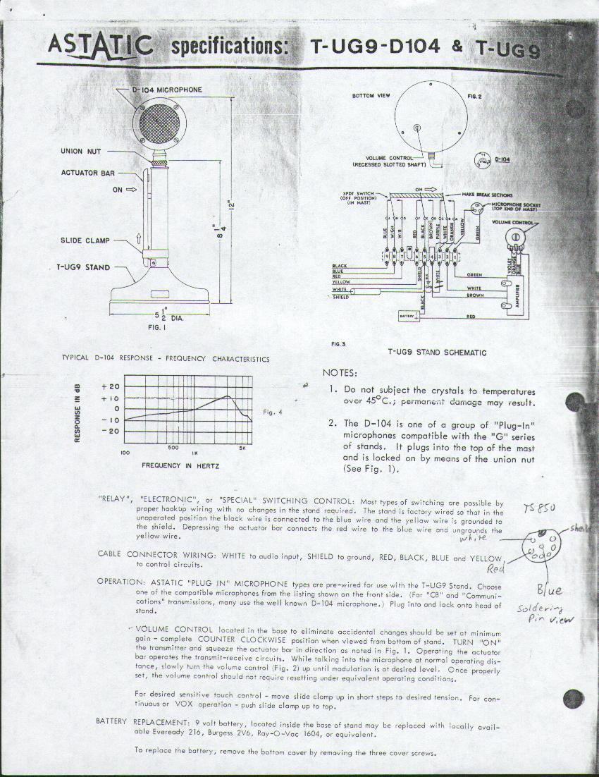 hight resolution of d104 d 104 microphone wiring d 104 page two information