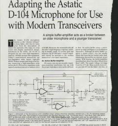 how to wire an astatic d 104 mic ehow astatic mic wiring mic wiring diagrams [ 850 x 1102 Pixel ]
