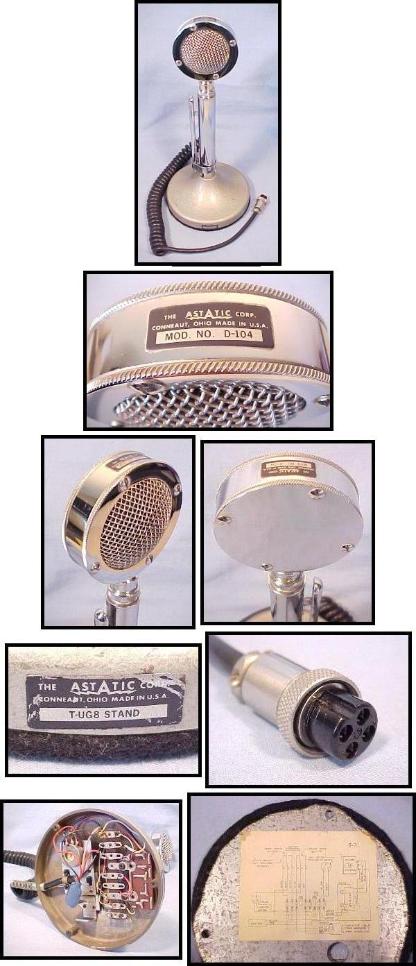 medium resolution of d104 astatic d 104 microphone wiring additionally echo mic related keywords