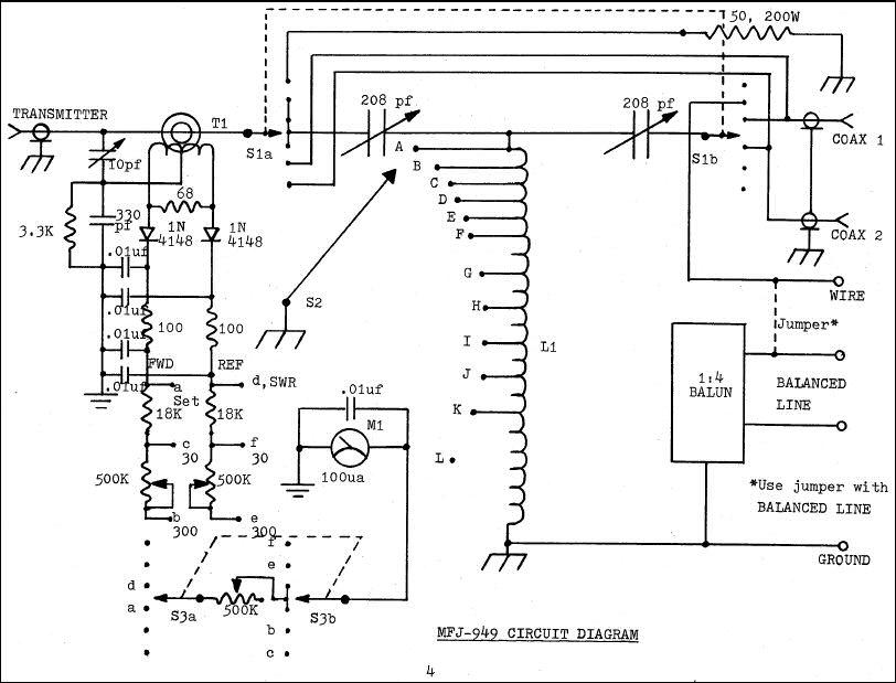 MFJ-949B Deluxe Versa Tuner II