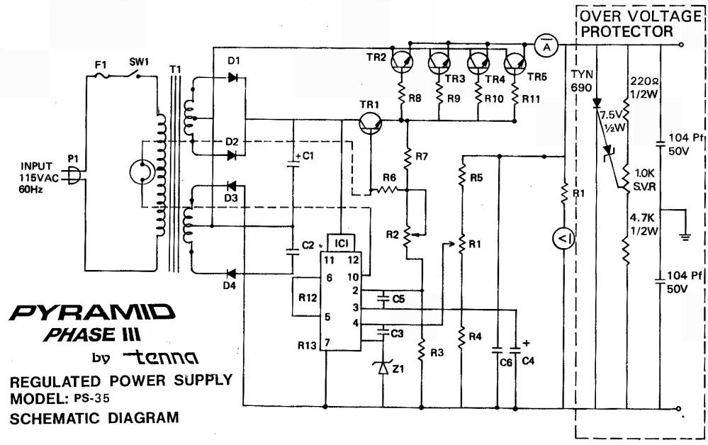 medium resolution of http www qsl net wb4kdi powersupply pyramid ps 35 power supply png