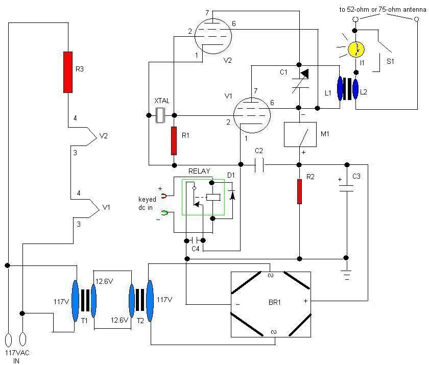 6 wire rectifier schematic