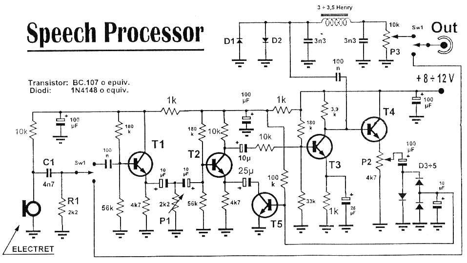 schematic diagram of radio