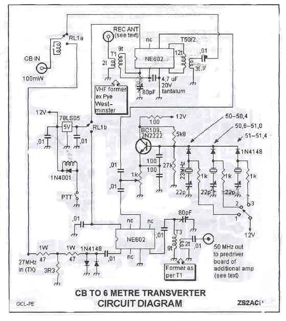 CB TO 6M TRANSVERTER