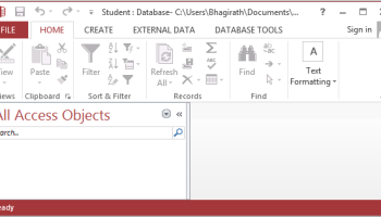 MS Access Database Connectivity with Java-Quick Solution