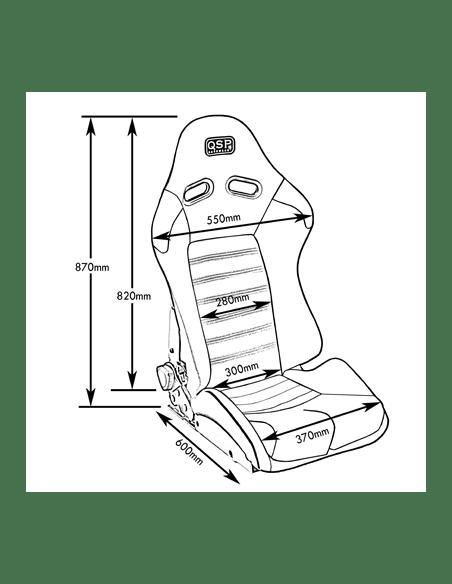 Seat Sport adjustable