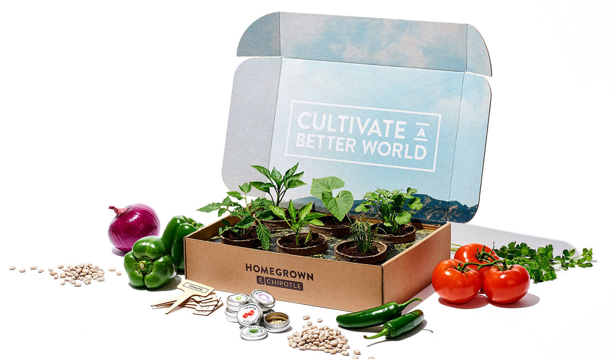 Chipotle Selling Garden Boxes in Honor of National Plant a