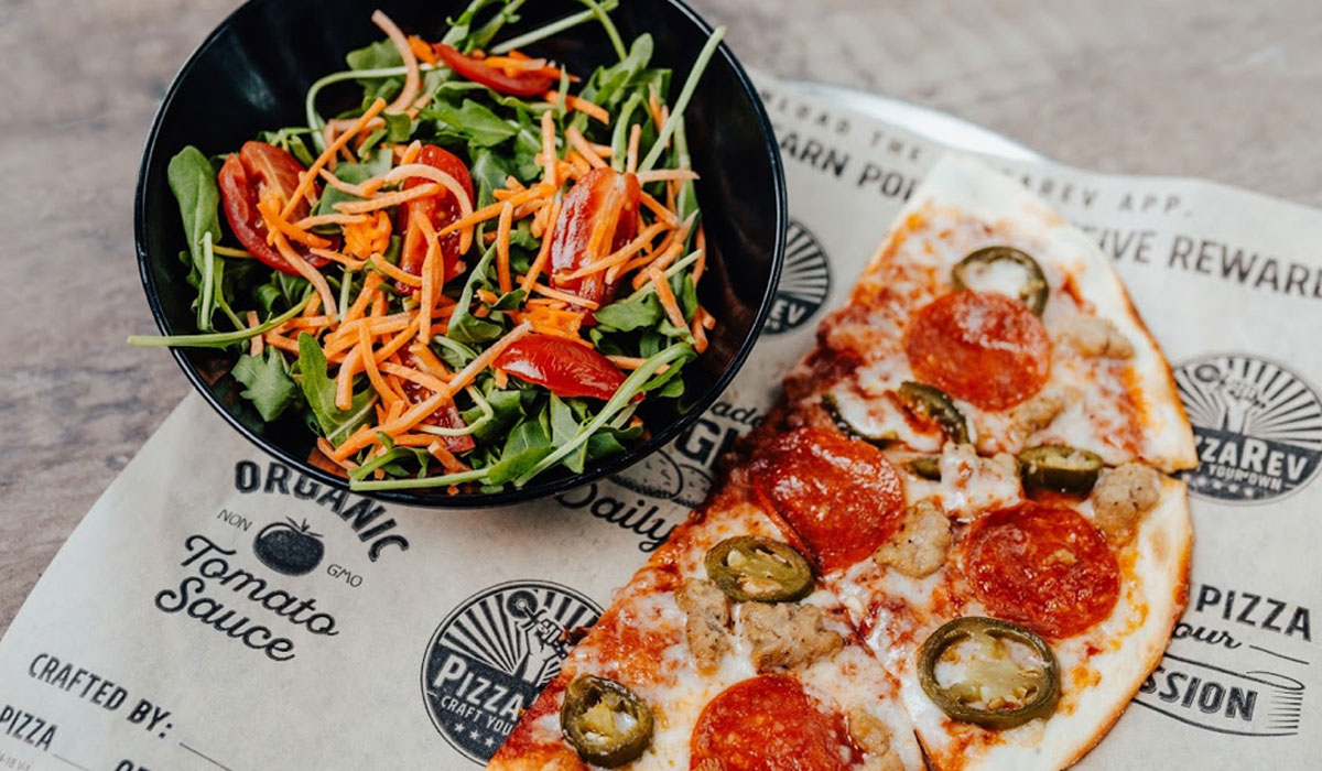 Pizzarev Launches Craft Your Half Promotion Restaurant