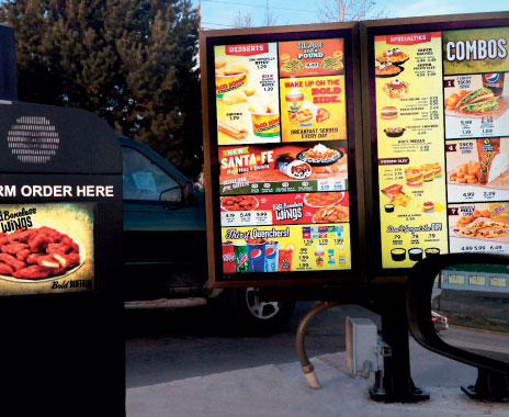 Fast Food Drive Thru Menu Strategies Maximize Business