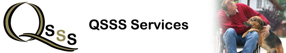 QSSS services banner logo