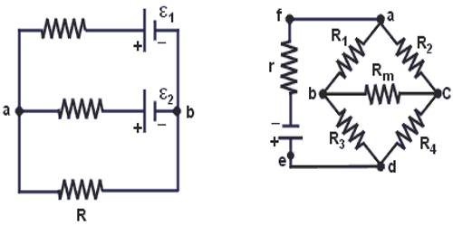 Application of Kirchoff's Law in Parallel Combination of