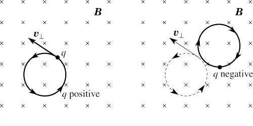Representation of Direction of Magnetic Field on the Plane