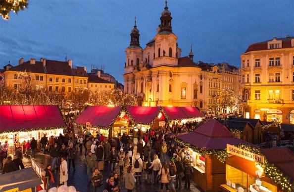 Mercadillo de navidad de Praga