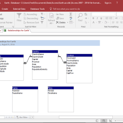Database Diagram Visual Studio 2013 Vtec Wiring How To Create A In Access Print Modify The Report